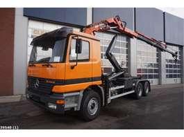 containersysteem vrachtwagen Mercedes Benz Actros 2640 6x4 Atlas 16 ton/meter laadkraan 2000