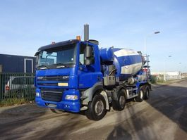 betonmixer vrachtwagen DAF 85 CF 360 8 X 4 EURO 5 !! MIXER 10 KUUB !! 2008