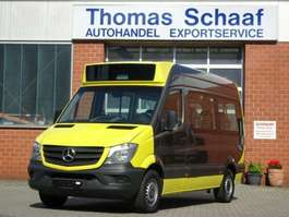 stadsbus Mercedes Benz Sprinter 313 Cdi Blue Efficiency 1+7 Sitze Klima 2014