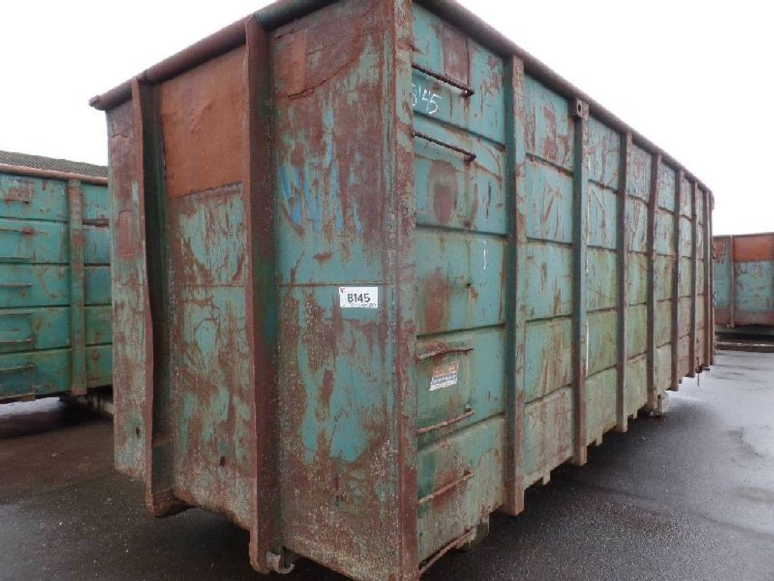 open top zeecontainer VERNOOY 8145