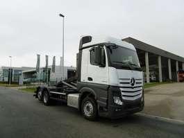 containersysteem vrachtwagen Mercedes Benz 2643 ACTROS - 6X2 - EURO 6 - CONTAINERWAGEN 2015
