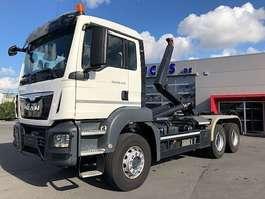 containersysteem vrachtwagen MAN TGS 26.440BB-6X4-3M90 WIELBASIS-MOTOR PTO-RADIOSTURING-78500KM-ALS NIEUW!! 2017