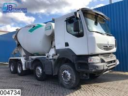 betonmixer vrachtwagen Renault Kerax 410 Dxi 8x4,  Imer group mixer, Steel suspension, Manual, Airco, H... 2009