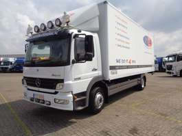 bakwagen vrachtwagen Mercedes Benz ATEGO 1228 L + Manual + navigation 2005