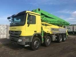 betonpomp vrachtwagen Mercedes Benz 3241 Waitzinger 36m - German Pump 2011