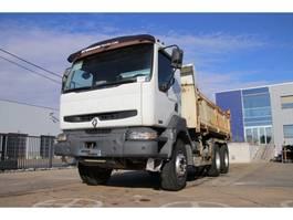 kipper vrachtwagen > 7.5 t Renault KERAX 370 DCI 2006