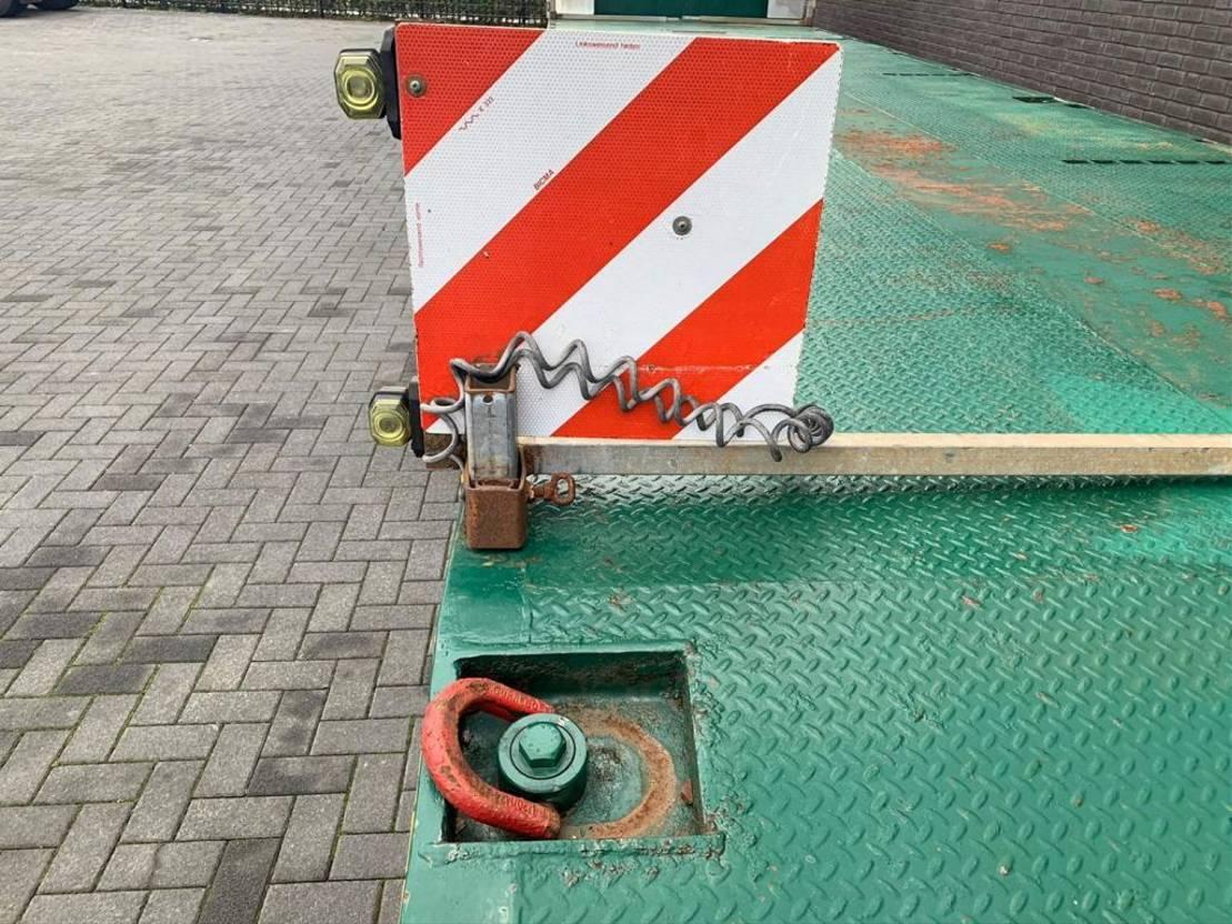 semi dieplader oplegger ES-GE 6 AXEL EXTENDABLE SEMIE TRAILER 2009