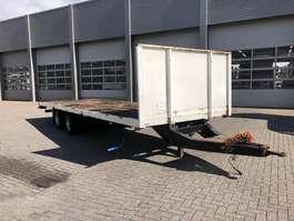 platte aanhanger vrachtwagen Lag 2-Assige Wipkar / Plateau / Kooiaapaansluiting 2002