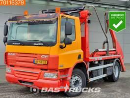 containersysteem vrachtwagen DAF CF75.250 4X2 Manual Steelsuspension Euro 5 2008
