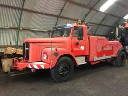 takelwagen-bergingswagen-vrachtwagen Scania L110 1971