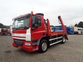 containersysteem vrachtwagen DAF CF75.250 + PTO + Portal system + Euro 5 2009
