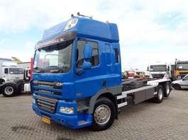containersysteem vrachtwagen DAF CF 85 410 + EURO 5  + 6X2 + HOOKLIFT + NL TRUCK + 10 TIRES + TOP 2008