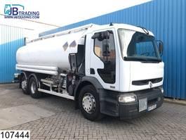 tankwagen vrachtwagen Renault Premium 320 6x2, 18540 Liter, Fuel tank, 5 Comapartments,  Manual, Analo... 2004
