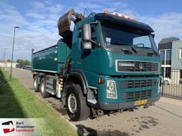 kipper vrachtwagen > 7.5 t Terberg FM 1350 6x6 euro 5 kipper met HMF Z-kraan 2010