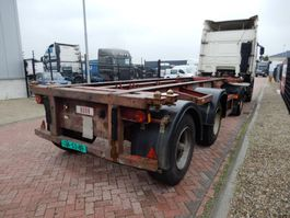 container chassis oplegger Craven tasker 20 FT chassis / Steel suspension / BPW axles 1991