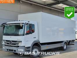 bakwagen vrachtwagen Mercedes Benz Atego 1222 L 4X2 Manual Ladebordwand Euro 5 2013