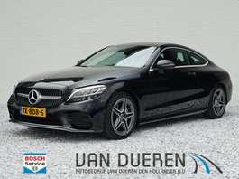 coupé wagen Mercedes Benz C-klasse Coupé 200 Advantage Pack AMG Line/Sportpakket interieur en exte... 2018
