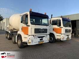 betonmixer vrachtwagen MAN 37.360 8x4 kabelsysteem met betonmixer 2002
