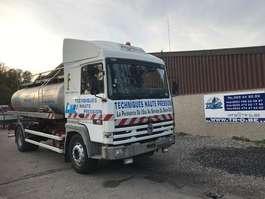 tankwagen vrachtwagen Renault R385 MAJOR CITERNE EN INOX 5 COMP 1994