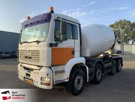 betonmixer vrachtwagen MAN 37.360 betonmixer manual hubreduction steelsuspension 2003