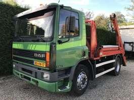 containersysteem vrachtwagen DAF 75.240 ATI PORTAAL NOOTEBOOM 1996