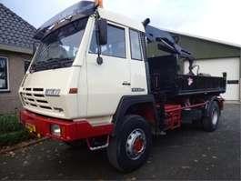 kipper vrachtwagen Steyr 19S25 S 4X4 1993