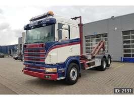 containersysteem vrachtwagen Scania R144 460 CR19, Euro 1 1997