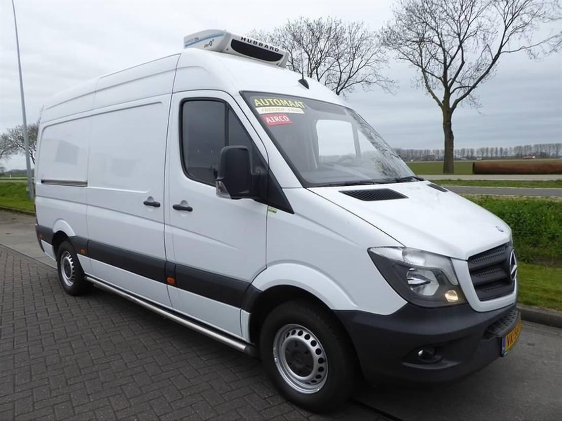 koelwagen bestelwagen Mercedes Benz SPRINTER 313 CDI dag/nacht -20vriezer 2014