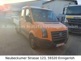 open laadbak bedrijfswagen Volkswagen Crafter 2,5 TDI DOKA Pritsche HU 09/20