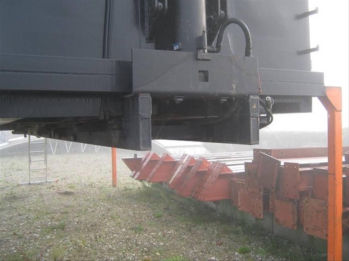Kipperbak vrachtwagen onderdeel Kip perbak 2005
