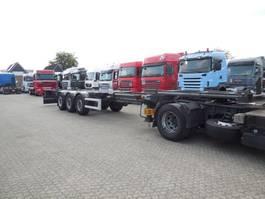 container chassis oplegger Renders EURO 800N FLEXITRAILER MULTI SAF-assen Schijfremmen Lift-as 2013