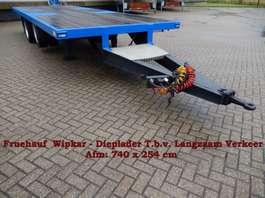 platte aanhanger vrachtwagen 2 en 3 As Aanhangwagen - Langzaam Verkeer Open, 3 Stuks
