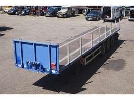 containersysteem oplegger M&V Open met twistlocks 12,6 long, 40ft,30,2x20,20 2007