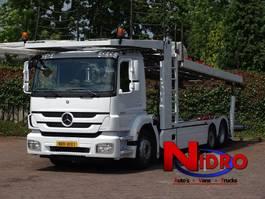 autotransporter vrachtwagen Mercedes Benz AXOR AUTOTRANSPORTER KASSBOHRER CITYTRANS 5 Cars 2011