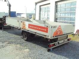 platte aanhanger vrachtwagen Kögel 1 achs offen  luft GG: 4.500 kg 2010