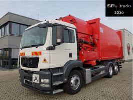 vuilniswagen vrachtwagen MAN TGS 26 .320 6X2-2 BL / Lenkachse / GERMAN