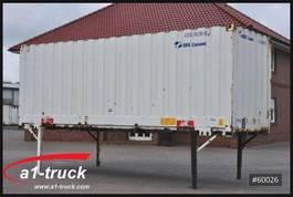 gesloten wissellaadbak Krone WB 7,45 Koffer, stapelbar, Stapler, Container, 2007