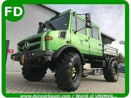 leger vrachtwagen Unimog FUNMOG, Unimog mit Doppelkabine, Doka Unimog Showcar 1996