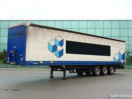 schuifzeil oplegger Schmitz Cargobull SCS24L TAUTLINER  SLIDING ROOF  DISC BRAKES  HOLLAND TRAILER 2011