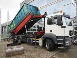 kipper vrachtwagen MAN TGS 26.360 6x2-4 BL Kipper + Palfinger PK15002 2008