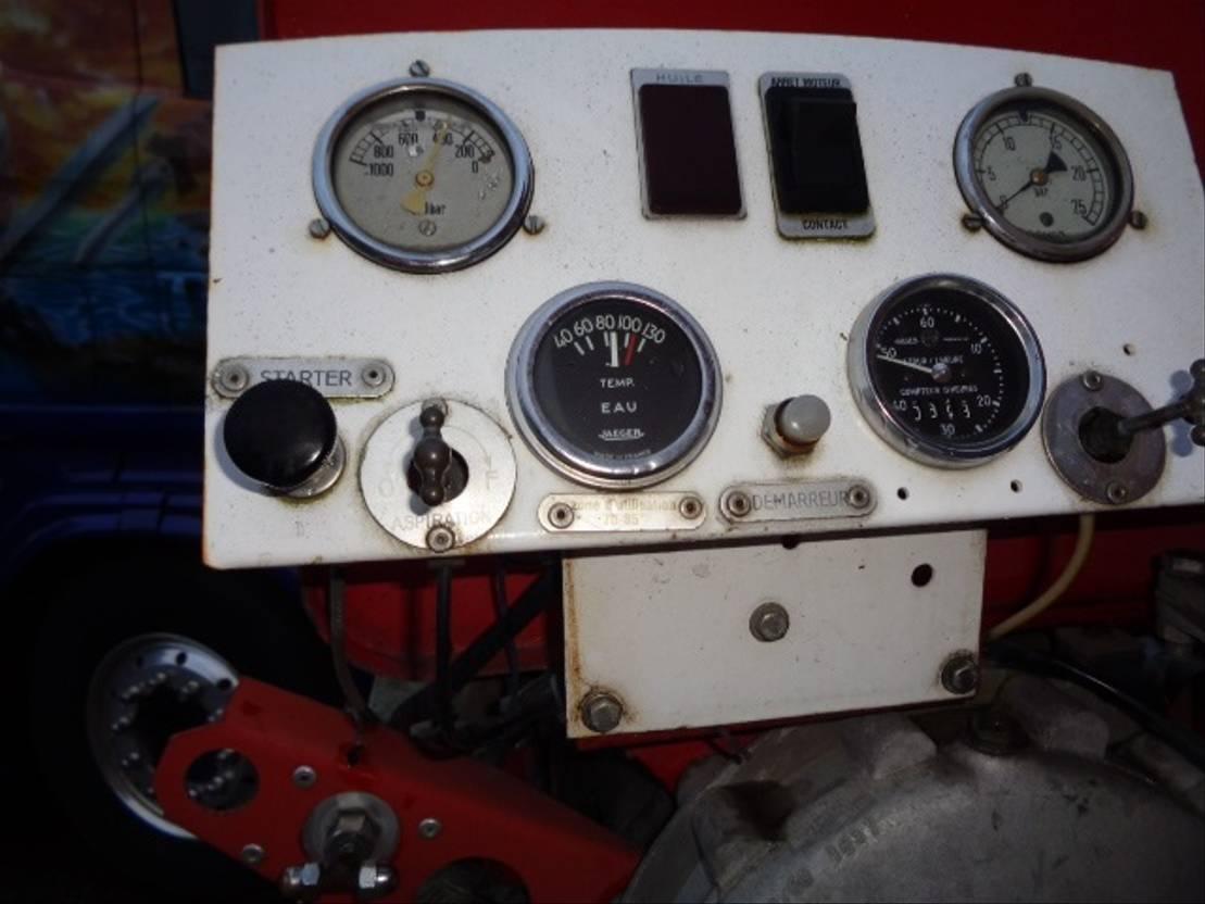 Opbouw vrachtwagen onderdeel Diversen Occ Brandweerwagen opbouw