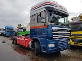 chassis cabine vrachtwagen DAF FAR XF105.460 2011