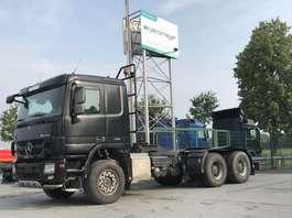 chassis cabine vrachtwagen Mercedes Benz Actros 2655 L 6x4 V 8 Motor, MP 3, Retarder, Klima, 3 Pedale, 2011