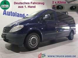 taxibus Mercedes Benz Vito 115 CDI Extra Lang 7 Sitze 2 x Klima 1.Hand 2009
