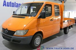 open laadbak bedrijfswagen Mercedes Benz Sprinter 211 CDI DoKa 6 Sitze AHK Standheizung 2002