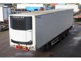 koel-vries oplegger Renders Freezer trailer Carrier Vector 1850 / Tailgate Dhollandia 2000KG 2009