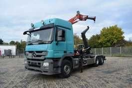 roro trekker Mercedes Benz Actros 2836 Abroller mit MKG 96 6x2 2012
