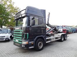 wissellaadbaksysteem vrachtwagen Scania R164 580 V8 6X4 HAKEN 2002