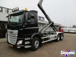containersysteem vrachtwagen DAF 85 CF 460 6X2 Haakarm Euro 6 2014