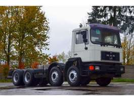 chassis cabine vrachtwagen MAN 32.342 chassis 8x4 model 1995 1995